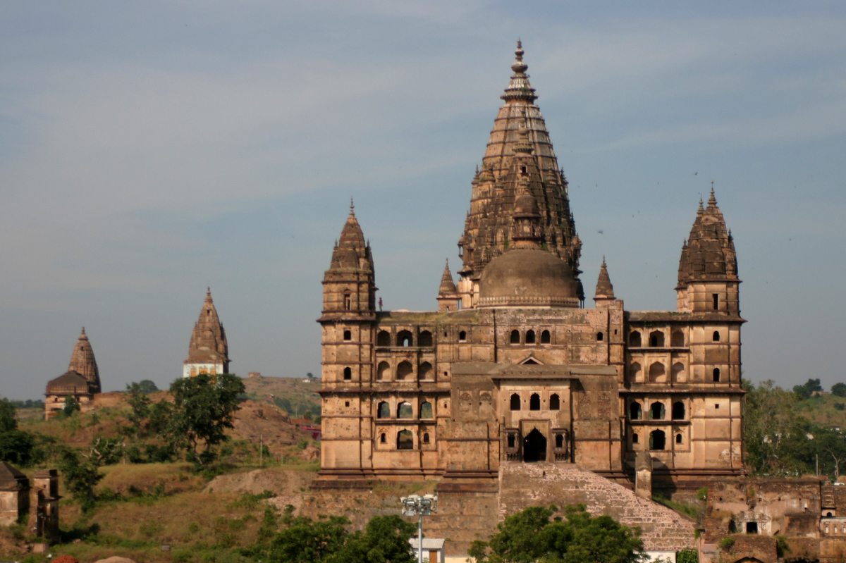 Temples Of Orchha